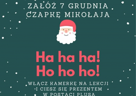 Mikołajki 7 grudnia :)