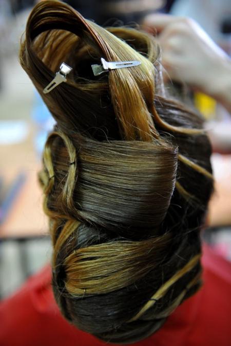 Szkolny konkurs fryzjerski
