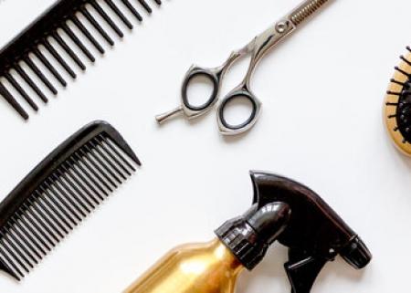 Wewnątrzszkolny konkurs fryzjerski 2021
