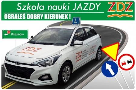 Kurs prawa jazdy w ZDZ